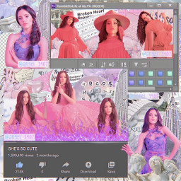 jennaortega red purple pink aesthetic complexshapeedit photoshoot freetoedit remixit
