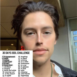 funnyface colesprouse 6 freetoedit