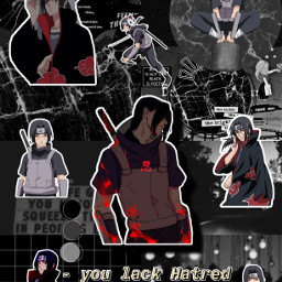 itachiuchiha naruto naruroshippiden uchiha itachi itachiedit animeedit anime freetoedit