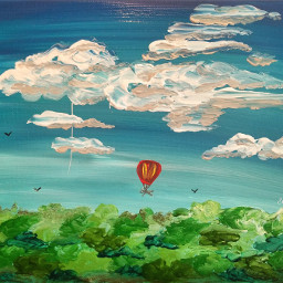 draw drawings artists nature gallery artlover clouds art acrylicpaint acrylic acrylicpainting painting paint