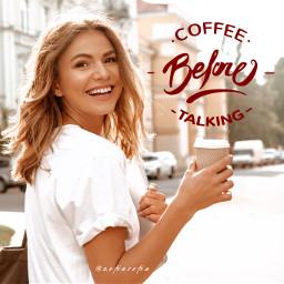 freetoedit morning coffee positive