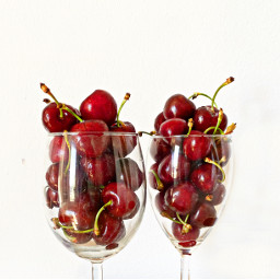 cherries red fruit