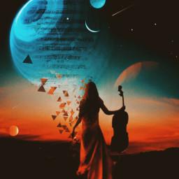 freetoedit music skylovers planets remix picsartedit picsarteffects srcmusicalnotes musicalnotes
