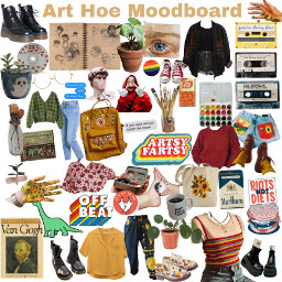 arthoe moodboard arthoeaesthetic icebreakers freetoedit