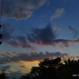 nofliter cloudysky sunsetphotography