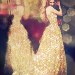 freetoedit unsplash painteffect dress sparkle woman beautiful