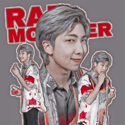 freetoedit rm kimnamjoon namjoon rapmonster bts bangtan bangtanboys kpop jainakim kpopedit myedit picsart remix polarr