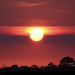 sundown sun sunset nature photography