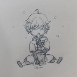 chongyun chongyungenshinimpact genshinimpactchongyun anime animeboy drawing animedrawing