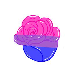 rose bisexual bisexualdrawing bisexualrose drawing bi lgbtq+ freetoedit lgbtq