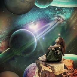 espacio space planetas planets freetoedit