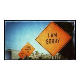 signs iamsorry