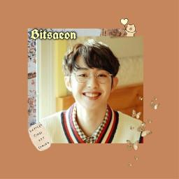 freetoedit mont bitsaeon happybirthday happybitsaeonday mint orange love sweet cute idol art kpop kpopedit
