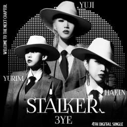 3ye stalker 3yestalker yuji yurim haeun kpop kpopedit kpopdesign kpopfans art . . . . 𝙿𝙽𝙶𝚜: art