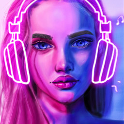 remix srcneonheadphones neonheadphones freetoedit