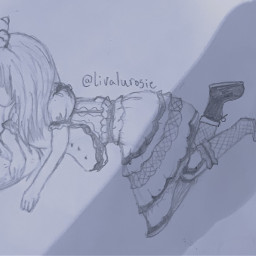 drawing hashtag