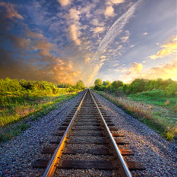 freetoedit remixit nature travel rainbow follow summer fanart peace happytaeminday popular popularpage traintrack