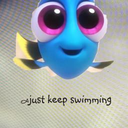 babydory dory findingdory sorryguysideletedpicsartbymistake justkeepswimming freetoedit