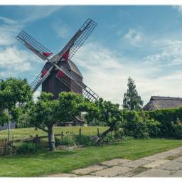 windmill travellinggermany greifswald timeless oldfashioned meckpomm balticsea architecture freetoedit