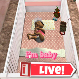 ilive babyambee btwiliveisarealgame mybabygirl sheis2-4monthsold freetoedit sheis2