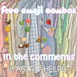 emojicombos emoji combos free freestuff help helpaccount