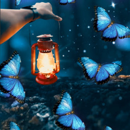 freetoedit themagiclamp colorpaletteclassicblue