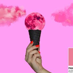 voted pink icecream ecsummericecream summericecream freetoedit