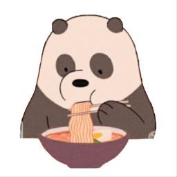 panda werebears freetoedit