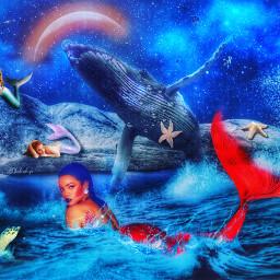 mermaids freetoedit