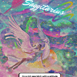 saggittarius freetoedit picsart