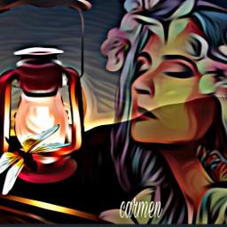 myedit lampada fantasy doubleexposure oileffect magiceffect challenge freetoedit ircthemagiclamp themagiclamp