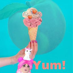 peachysquad ecsummericecream summericecream freetoedit