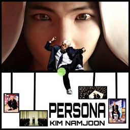 freetoedit remix bts bangtanboys bangtan btsedit rm kimnamjoon namjoon persona animation heypicsart myedit