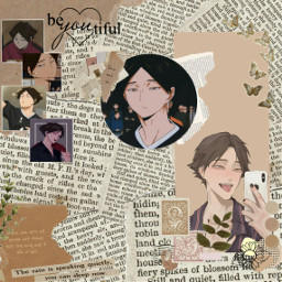 freetoedit sunarintaro sunarintarou haikyuu haikyuuedits aesthetic aestheticwallpaper anime animeboy animeedit beige