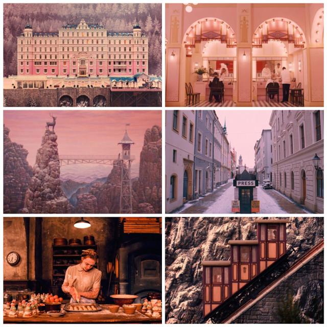 "Beauty of ""The Grand Budapest Hotel""! #thegrandmasterofdemoniccultivation #wesanderson #beauty #movie #beautyofmovie #aesthetic"