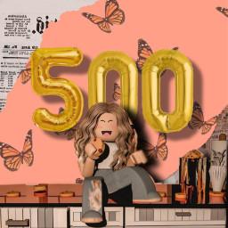 500followers freetoedit