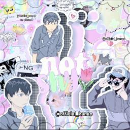 kageyamatobio kawaii pastel request haikyuu animecomplexedit complexedit usedmynewdesc contestentry