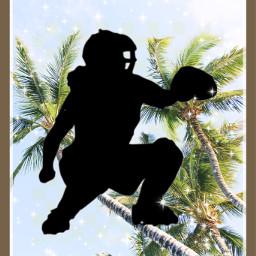softballplayer catcher freetoedit