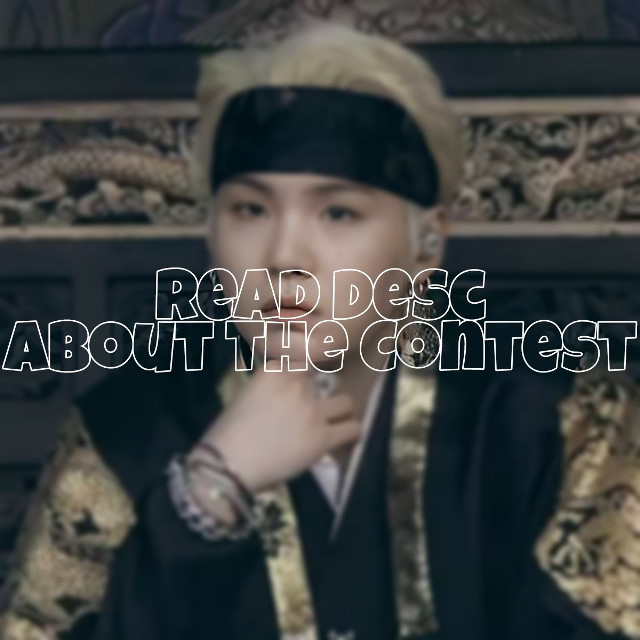 Okay, so first of all yoongi looking kyowt in this photo, he's like a smol Agust D, like I can't- he looks so tiny😫😫😫  Kk enough 'bout this cat  This post is about the contest, I was thinking, since I haven't been posting so much for 3( ? ) days I should post the winners tomorrow ( June 17 ) but maybe on 3 PM or sometime in the afternoon 'cause I still have a lot to do in the morning, I mean theres my chores and my schedule and I have to do a lot of stuff in the house cuz for the past 3 or 4 days I haven't done anything except for using gadgets and watching movies and I have been being lazy( a lots )   Btw, I have already chosen winners before the Sowoozoo Concert  So yeahhhhhhh  I also decided to consider honorable mentions part of the contest and there will be prizes:D ( Listed bellow )  Since I know they worked so hard for this-   🍄 One pfp and cover request 🍄 One watermark 🍄 Like Spam 🍄 A follow from all of my accounts 🍄 Collab with me ( Optional ) ( Manip Collab ) Yep, there you go, prizes for honorable mentions   @_-lizzu-_  @-li-xia  @chimmyland  @-bunbun_kook-  @yoongistan12  @silversooyaaaa  @vante_gallery  @mxltxstxn_  @rikiyomi  @nini_anglex  @stqrrycharli  @hwruto-kyu  @official_anna__  @chimmy_is_my_life  @amochilovercece  @taes_shoes  @jeonvnights  @niaverse  @-lil_peachy-  @kim_heyein  @jung-woovie  @stay4eva  @waterlemun   Total Participant Count : ( 23 )   For the contest Prizes, I will have to cancel some prizes 'cause there are too many pirzes, hehe. The canceled and additional prizes are listed bellow  Cancled Prizes   🍄 Meme Photos 🍄 Taehyung Photos  🍄 3 personalized aesthetic background   Additional Prizes  First Place/Winner ;  🍄 A follow from all of my accounts 🍄 Collab with me ( Optional ) ( Manip Collab )  Second Place  🍄 A follow from all my accounts 🍄 Collab with me ( Optional ) , ( Manip Collab )  Third Place   🍄 A follow from all my accounts   I'll be listing down all the prizes so.....just read it if you want to-  🍄 PRIZES 🍄   🍄1st Pla