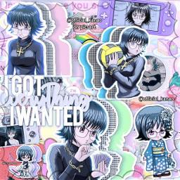 shizukumurasaki shizukuhxh hxh hunterxhunter murasaki complexedit complex animecomplexedit anime soft