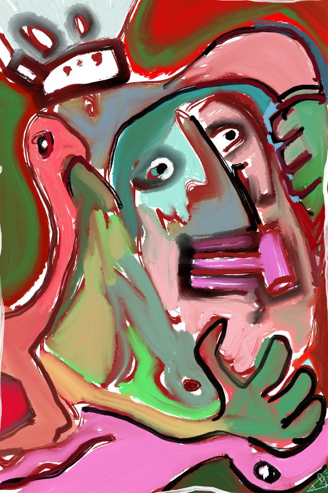 """The 27th State"" #art #abstract #abstractart #sonnyleel #sonnythesaint"