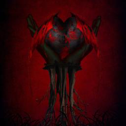 background ftestickers grass black blackandwhite hand hands root roots floatingland brasil heart freetoedit