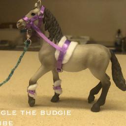 schleichhorses diy artycrafty horsetack googlethebudgie