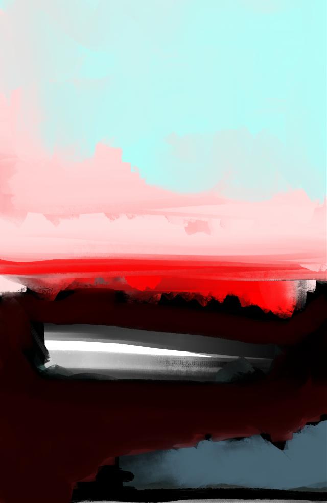 """Show Me The Painted Sky"" #art #artist #abstract #abstractart #sonnyleel #sonnythesaint"