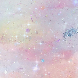 sparkles wallpaper backround pastelaesthetic glitter clouds cute kawaii sparkleeffect glossy shiny reflections pink freetoedit