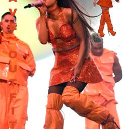 arianagrande swt sweetenerworldtour sweetener sweetenertour tour worldtour tun thankunexttour orange queen iconic dance performence contest arianagrandebutera arianabuteragrande arianagomez liveshow show live new interesting aesthetic arianator freetoedit