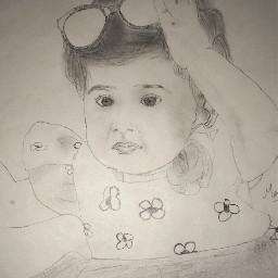 nieces sketch drawing