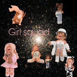 girl squad freetoedit
