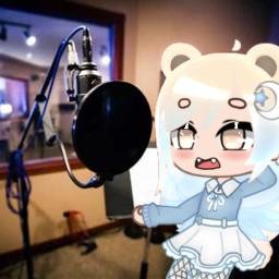 1557 music singing edit discord bear tan blue cyan moon star brown highlight whydowehavetoaddahashtag ihatehashtagsstopmakeingmedothem
