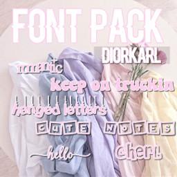 helpaccount fontpack fonts phonto edit complex diorkarl ramonasweetie help helpacc